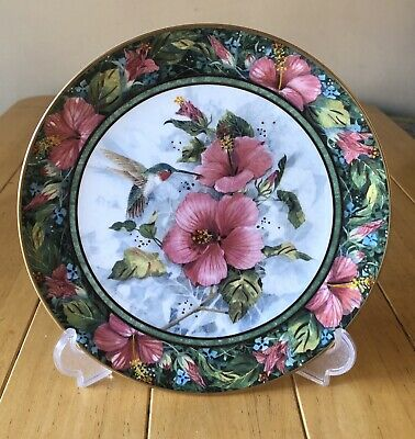 Royal Doulton The Imperial Hummingbird Franklin Mint Plate • 2.99£
