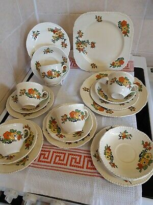 Woods And Sons Vintage  Tea Service  • 12£