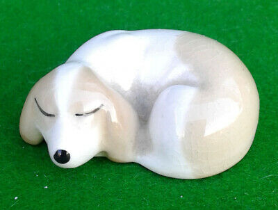 Szeiler Studio Miniature Puppy Dog Sleeping. • 3.99£
