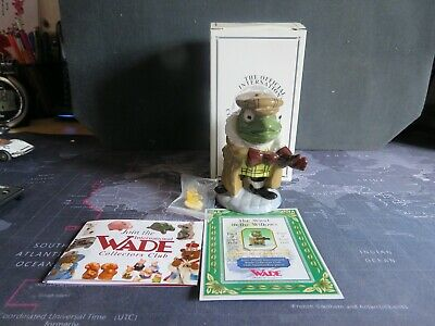 Wade The Wind In The Willows Toad Of Toad Hall +box, Badge,certificate  • 15.99£