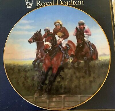 Royal Doulton  Great Racehorses Plate Red Rum Racehorse Pn187 Boxed • 16.99£