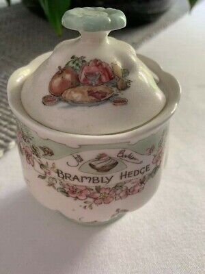 Rare Brambly Hedge Collectable  Vintage  Maralade Pot • 32£