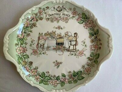 Very Rare Brambly Hedge Bread And Butter Plate • 29.99£