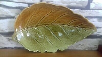 Royal Winton Two Tone Autumn Leaf Plate /platter Dish  • 3.99£