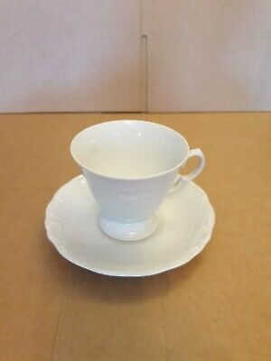 Vintage W Wavel Pottery? Made In Poland Tea Cup & Saucer • 7£