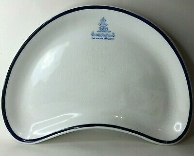 Antique Bolton Artillery Volunteers Kidney Shaped Mess Plate By H G Stephenson  • 50£