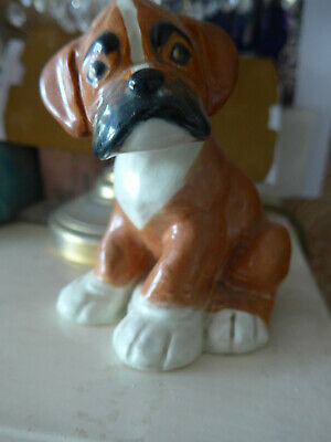 "BENGO BOXER PUP FIGURE FROM BBC SERIES BY ""TIM"" RARE COLLECTABLE 1950s Melba War • 50£"