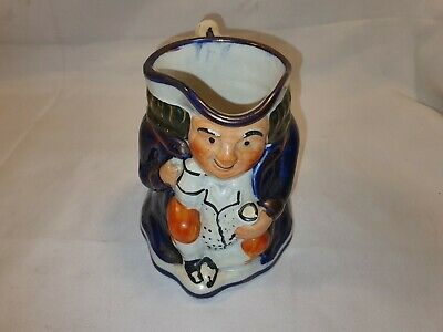 Vintage Character Jug Man Seated In Blue Jacket  In Great Condition • 9.99£