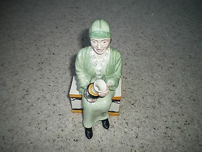 Manor Pottery Limited Edition Figurine Of Clarice Cliff No 30 Of 1500 • 48.75£