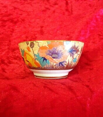 Antique Vintage Booths Silicon China Hand Painted Tea, Sugar ? Bowl Rare Pattern • 8£
