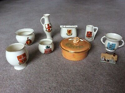 Goss - Collction Of 9 (see Description For Condition) • 18.50£