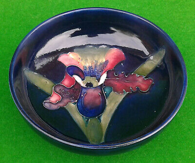 4.5  Moorcroft Slipper Orchid Footed Bowl A/f • 9.99£