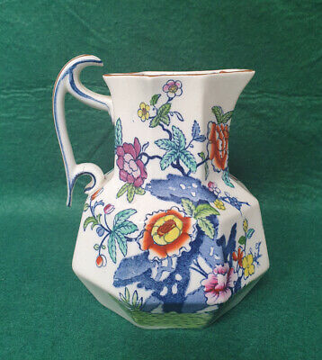 Booths Silicon China 'The Pompadour' Pattern -  6   Jug • 5.99£