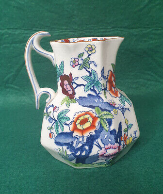 Booths Silicon China 'The Pompadour' Pattern -  5  Small Jug • 4.99£