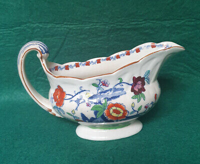 Booths Silicon China 'The Pompadour' Pattern -  Sauce Boat • 4.99£