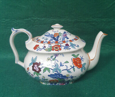 Booths Silicon China 'The Pompadour' Pattern -  Teapot • 14.99£