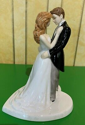 Royal Doulton Figure Our Wedding Day Hn 5037 Gloss  Perfect Cake Topper • 24.99£