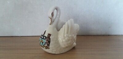 Vintage...collectable...british Made.. China..crested...swan...leeds....display • 0.99£