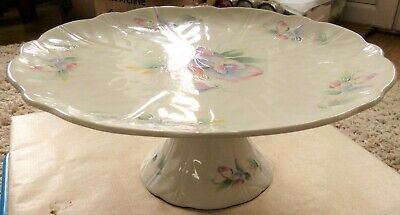 Aynsley 'Little Sweetheart' Cake Stand, 27cm Diam.11cm High, Very Good Condition • 4£