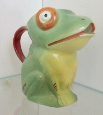 Small Frog Creamer Jug ~ Tony Wood Style ~ 3  In Height  • 9.99£