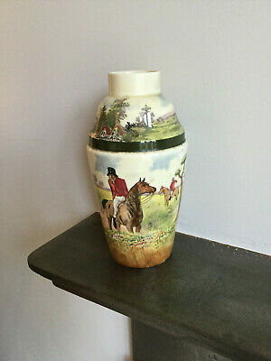 Royal Doulton Cocktail Shaker With Fox Hunt Scene  • 75£
