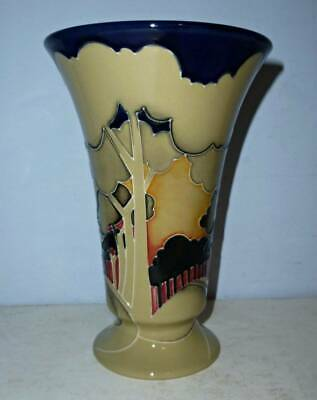 Superb William MOORCROFT Centenary Vase - EVENTIDE WINTER By Vicky Lovatt • 195£