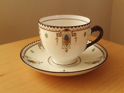 Vintage Tuscan China Hand Painted Sussex Cup & Saucer. • 4.99£