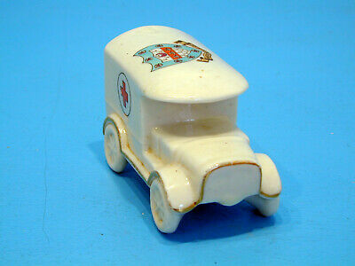 Shelley 330, WWI Crested China Red Cross Van - Woodbridge • 19.99£