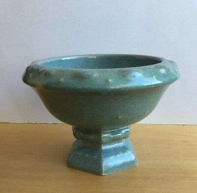 Wade Pottery Small  Flecked  Round Pedestal  Footed Bowl • 3.50£