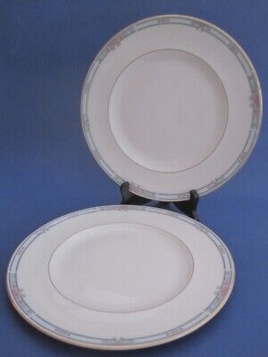 Royal Doulton Lesley Pattern X2 Dinner Plates 10.5in • 4.50£