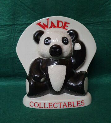 Wade Collectables Extravaganza 1998 - Large Panda Plaque • 18.99£