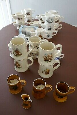 Wade Collection Of 29 Shaving Mugs And Tankards • 12£