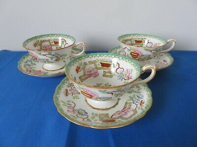 Hammersley & Co Indian Tree Cup & Saucer X 3 • 30£