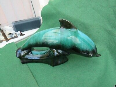 Large Canadian Blue Mountain Pottery Dolphin  • 29.99£