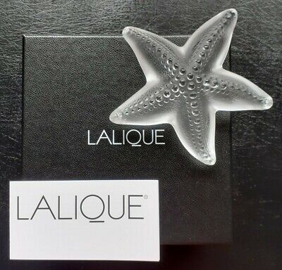 Lalique Oceania Clear Star Fish Starfish1185800 Brand New In Box ! Gift Idea  • 209.95£