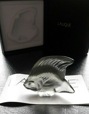 Vintage Lalique Fish Grey 3001400 , Seal Fish , Angel . Mint Cond . Gift Idea • 63.50£
