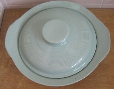 Vintage - Woods Ware Beryl Green Tureen/serving Dish With Lid • 5.50£