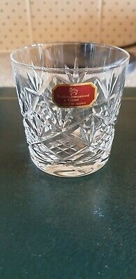 Doulton Crystal Tumbler Made In France • 3.20£