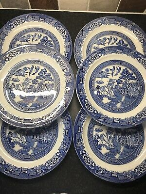 Woods Ware Plates • 4£