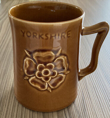 Vintage Eastgate Withernsea Pottery Yorkshire Tyke's Mug: Dialect/accent/slang. • 9.95£