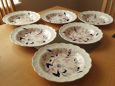 Vintage X6 Booths  Fresian  Bowl/Dish With Scalloped Rim.  • 24.99£
