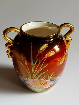 Carlton Ware Rouge Royale Gilt Decorated Small Vase • 4.99£