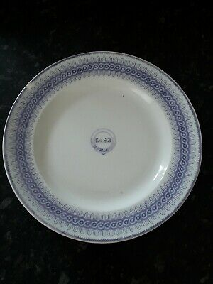 Llanelly Pottery 10.5  Gower Pattern Plate • 15£