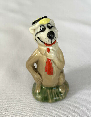 RARE WADE ORIGINAL YOGI BEAR WHIMSIE Hanna-Barbera Cartoon Character 1962/1963 • 18£
