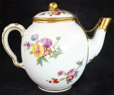 Nxxx ANTIQUE 18TH CENTURY FRENCH SEVRES PORCELAIN TEAPOT & COVER • 349.99£