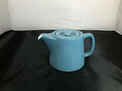 Vintage Maddock, Royal Vitreous Small Blue Stone Colour Teapot 03-20 #BEB • 6.99£
