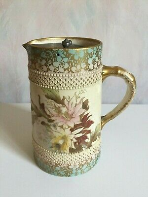 W & R Carlton Ware Christmas Cactus Floral Water Jug With Lid Rd No. 246832 • 5£