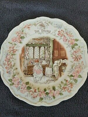 Royal Doulton, Brambly Hedge 21cm Plate - The Dairy • 8.50£