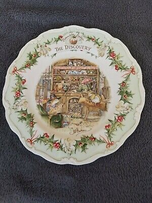 Royal Doulton, Brambly Hedge 21cm Plate - The Discovery • 8.50£