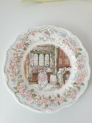 Brambly Hedge The Dairy Plate 8  • 8£